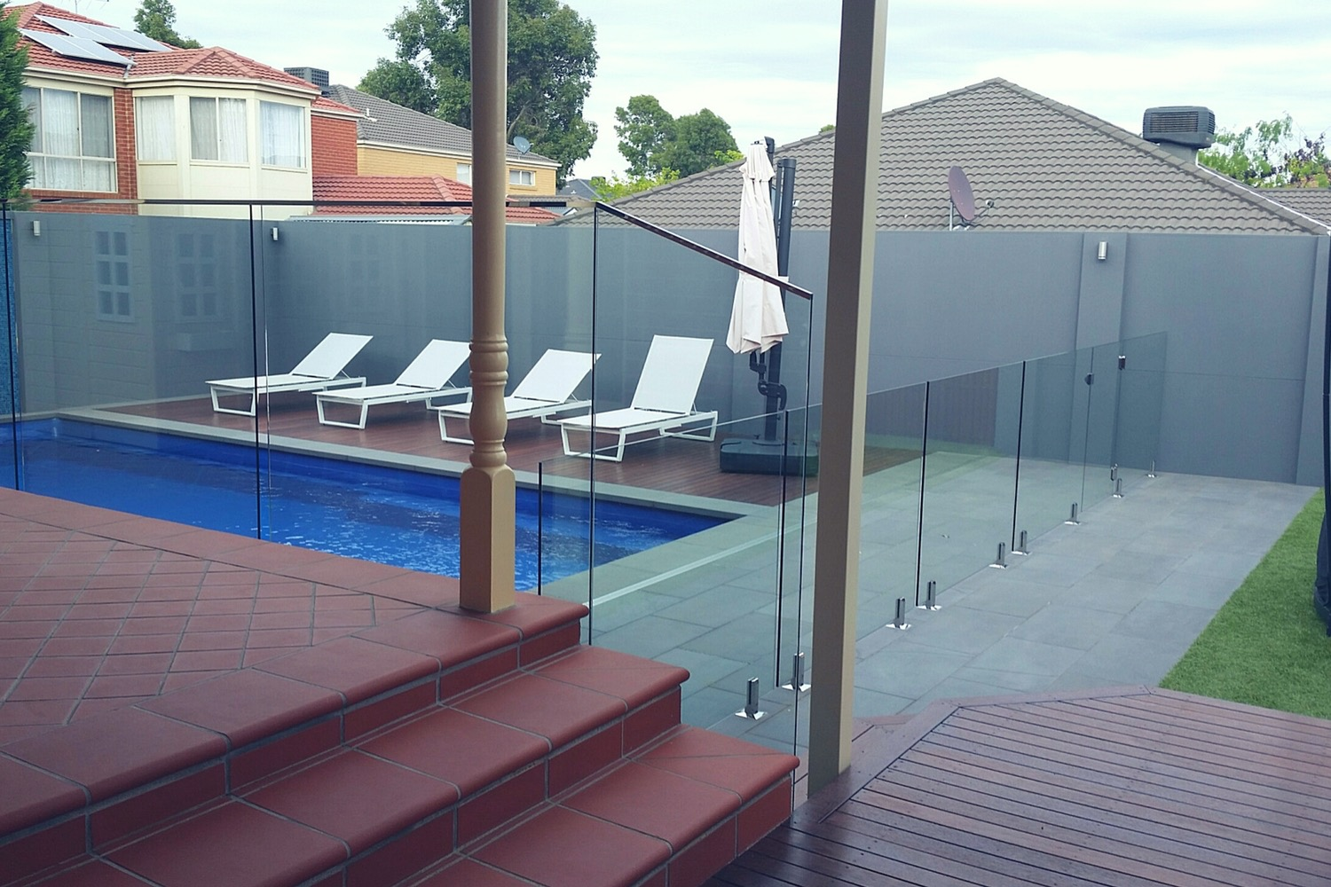 Glass Pool Fencing Balustrade Services Everclear